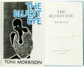 Books:Literature 1900-up, [Featured Lot]. Toni Morrison. SIGNED. The Bluest Eye.London: Chatto & Windus, 1979. First British edition. Signe...