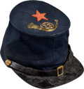 Military & Patriotic:Civil War, 13th New Jersey Enlisted Man's Forage Cap With Corp Badge & Label, ...