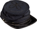 Military & Patriotic:Civil War, Commercially Produced Civil War Officer's Forage Cap Identified to Lieut. William Sexton 83rd Illinois Infantry....