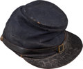 Military & Patriotic:Civil War, Union Forage Cap Identified to Hiram H. Guitteau Co H, 92nd Ohio Infantry....