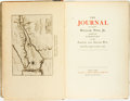 Books:Biography & Memoir, [William Pote, Jr.]. LIMITED.The Journal of Captain William Pote, Jr. during His Captivity in the French and Indian War....