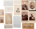 Photography:Cabinet Photos, Ulysses S. Grant Family Photographs and Signatures....