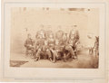 """Photography:Cabinet Photos, """"Officers on board the Monitor"""" Brady Album Gallery Card,..."""