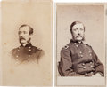 Photography:CDVs, Two Union General William F. Barry Cartes de Visite, One Signed.... (Total: 2 )