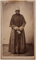 Photography:CDVs, Sophy Bush, Described as John Quincy Adams' Former Servant, Carte de Visite....