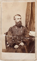 Photography:CDVs, Rare Union General Herman Haupt Carte de Visite....