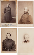 Photography:CDVs, Three Union Generals and One Rear Admiral Cartes de Visite: James W. Denver, Alfred Gibbs, Jacob G. Lauman, and Rear... (Total: 4 )