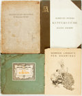 Books:Art & Architecture, [Albrecht Durer, J. L. Forain, Norman Lindsay, William Blake] Four Books of Drawings and Engravings. Various publishers and ... (Total: 4 Items)