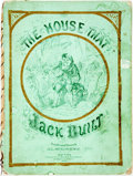 Books:Literature Pre-1900, H. L. Stephens, illustrator. The House that Jack Built. New York: Hurd & Houghton, 1865. Original pictorial binding....