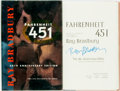 Books:Science Fiction & Fantasy, Ray Bradbury. SIGNED. Fahrenheit 451. New York: Simon and Schuster, [1993]. 40th Anniversary edition. Signed by th...