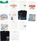Music Memorabilia:Costumes, The Who - John Entwistle Collection of T-Shirts (1980s-1990s)....(Total: 13 Items)