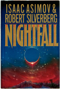 Isaac Asimov and Robert Silverberg. Nightfall. New York: Doubleday, [1990]. First edition. Publ