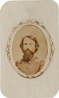 Military & Patriotic:Civil War, Carte de Visite of Colonel John W. S. Alexander, 21st Illinois Infantry, Killed in Action at Chickamauga, Georgia....