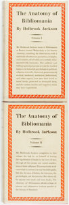 Books:Books about Books, Holbrook Jackson. The Anatomy of Bibliomania. London: TheSoncino Press, 1930. First edition. Two volumes. Publisher...(Total: 2 Items)