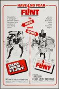 """Movie Posters:Adventure, Our Man Flint/ In Like Flint Combo (20th Century Fox, R-1967). OneSheet (27"""" X 41"""") & Pressbooks (2) (Multiple Pages, 8.25""""...(Total: 3 Items)"""