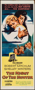 "Movie Posters:Film Noir, The Night of the Hunter (United Artists, 1955). Insert (14"" X 36""). Film Noir.. ..."