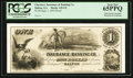 Obsoletes By State:Georgia, Dalton, GA- Cherokee Insurance & Banking Co. $1 Sept. 1, 1854 G2 Proof. ...