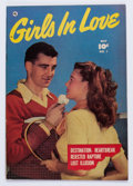 Golden Age (1938-1955):Romance, Girls In Love #1 Crowley Copy pedigree (Fawcett Publications, 1950)Condition: VF+....