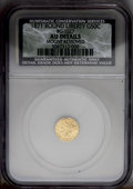 California Fractional Gold: , 1871 50C Liberty Round 50 Cents, BG-1027, R.3, --MountRemoved--NCS. AU Details. PCGS Population (11/128...