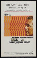 """Movie Posters:Action, Cool Hand Luke (Warner Brothers, 1967). Window Card (14"""" X 22"""").Drama. Directed by Stuart Rosenberg. Starring Paul Newman, ..."""