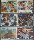 "Movie Posters:Action, Cool Hand Luke (Warner Brothers, 1967). Lobby Cards (6) (11"" X14""). Drama. Directed by Stuart Rosenberg. Starring Paul Newm...(Total: 6)"
