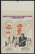 "Movie Posters:Action, Dr. No/From Russia With Love Combo (United Artists, R-1965). WindowCard (14"" X 22""). Action. Directed by Terence Young. Sta..."