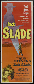 "Movie Posters:Western, Jack Slade (Allied Artists, 1953). Insert (14"" X 36""). Western. Directed by Harold D. Schuster. Starring Mark Stevens, Barto..."