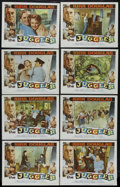 """Movie Posters:Drama, The Juggler (Columbia, 1953). Lobby Card Set of 8 (11"""" X 14""""). Drama. Directed by Edward Dmytryk. Starring Kirk Douglas, Mil... (Total: 8)"""