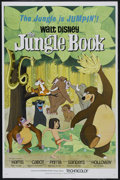 "Movie Posters:Animated, The Jungle Book (Buena Vista, 1967). One Sheet (27"" X 41""). Family.Directed by Wolfgang Reitherman. Starring Phil Harris, S..."