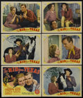 "Movie Posters:Comedy, The Kid from Texas (MGM, 1939). Title Lobby Card (11"" X 14"") and Lobby Cards (5) (11"" X 14""). Comedy Western. Directed by S.... (Total: 6)"
