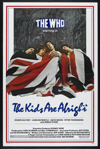 "The Kids Are Alright (New World Pictures, 1979). One Sheet (27"" X 41""). Musical. Directed by Jeff Stein. Starr..."