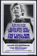"Movie Posters:Action, The Mechanic (United Artists, 1972). One Sheet (27"" X 41""). StyleA. Crime. Directed by Michael Winner. Starring Charles Bro..."