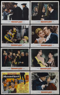 "Movie Posters:Adventure, Moonfleet (MGM, 1955). Lobby Card Set of 8 (11"" X 14""). Adventure.Directed by Fritz Lang. Starring Stewart Granger, George ...(Total: 8)"