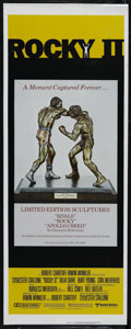 "Movie Posters:Sports, Rocky II (United Artists, 1979). Insert (14"" X 36""). Drama. Directed by Sylvester Stallone. Starring Stallone, Talia Shire, ..."