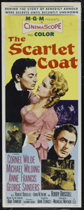 "Movie Posters:Adventure, The Scarlet Coat (MGM, 1955). Insert (14"" X 36""). Drama. Directedby John Sturges. Starring Cornel Wilde, Michael Wilding, A..."