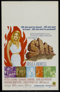 "Movie Posters:Adventure, She (MGM, 1965). Window Card (14"" X 22""). Adventure. Directed byRobert Day. Starring Ursula Andress, Peter Cushing, bernard..."