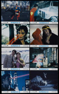 """Movie Posters:Fantasy, Superman II (Warner Brothers, 1980). Mini Lobby Card Set of 8 (8"""" X 10""""). Action. Directed by Richard Lester. Starring Gene ... (Total: 8 Items)"""
