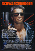 "Movie Posters:Science Fiction, The Terminator (Orion, 1984). One Sheet (27"" X 41""). ScienceFiction Action. Directed by James Cameron. Starring Arnold Schw..."