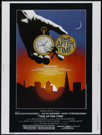 """Time After Time (Warner Brothers, 1979). Poster (30"""" X 40""""). Science Fiction. Directed by Nicholas Meyer. Star..."""