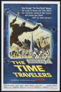 """Movie Posters:Science Fiction, The Time Travelers (American International, 1964). One Sheet (27"""" X41""""). Science Fiction. Directed by Ib Melchior. Starring..."""