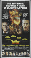 "Movie Posters:Action, The Towering Inferno (20th Century Fox, 1974). Three Sheet (41"" X77""). Disaster Epic. Directed by Irwin Allen and John Guil..."