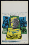 """Movie Posters:Horror, Village of the Damned (Loews - MGM, 1960). Window Card (14"""" X 22""""). Science Fiction. Directed by Wolf Rilla. Starring George..."""