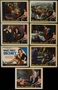 """Movie Posters:Drama, What Price Decency (Majestic, 1933). Title Lobby Card (11"""" X 14"""")and Lobby Cards (6) (11"""" X 14""""). Drama. Directed by Arthur...(Total: 7 Items)"""