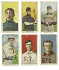 Baseball Cards:Lots, 1909-11 T206 Group Lot of 34. Large group of thirty-four cards fromthe famed T206 tobacco issue. Card backs are all Piedmo...