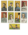 Baseball Cards:Lots, 1909-11 T206 Group Lot of 83. Large group of eighty-three cardsfrom the famed T206 tobacco issue. Card backs are all Piedm...