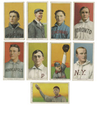 1909-11 T206 Group Lot of 83. Large group of eighty-three cards from the famed T206 tobacco issue. Card backs are all Pi...