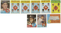 Baseball Cards:Lots, 1963 Topps Baseball Group Lot of 321. Noteworthy cards from thisgroup include: #1 NL Batting Leaders F. Robinson/Musial/Aa...