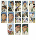 Autographs:Sports Cards, 1964-71 Topps Signed Cards Group Lot of 13. Each of the twelvecards here from the 1964 Topps Giants issue has been signed....