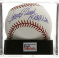 "Autographs:Baseballs, Johnny Bench ""14x All Star"" Single Signed Baseball, PSA Mint+ 9.5.The Hall of Fame catcher makes note of his fourteen All-..."
