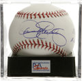 "Autographs:Baseballs, Dennis Eckersley ""1992 AL MVP"" Single Signed Baseball, PSA Mint+9.5. The newest member of the Hall of Fame makes note of h..."
